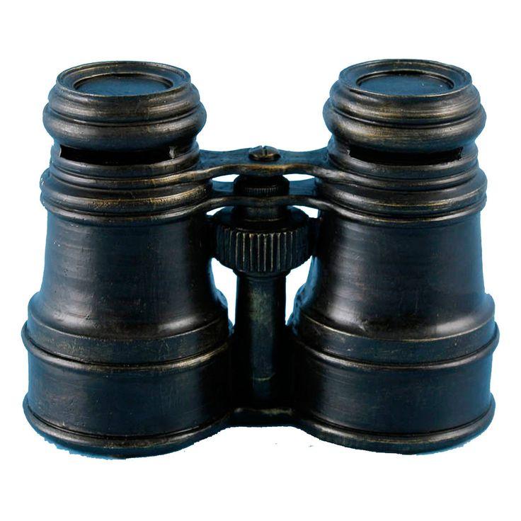 Vintage Binoculars Bank 6.5X4.75-in