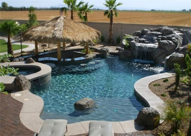 48 best beach front yard images on pinterest front for Pool design 974