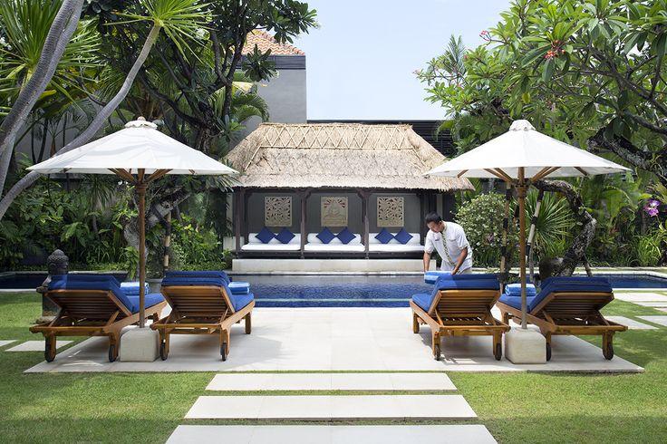 http://prestigebalivillas.com/bali_villas/villa_jemma/2/live_availability/ View to pool and bale at tropical Villa Jemma Bali