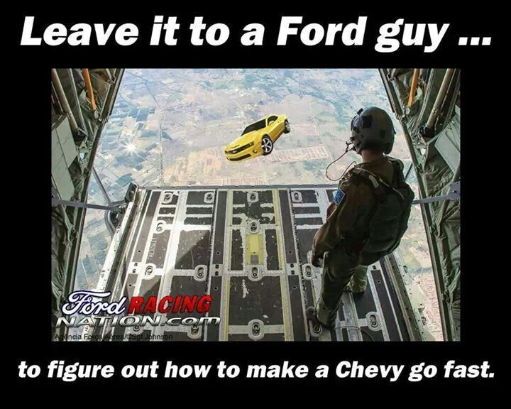 Ford Rocking Chevy Jokes | via maritza garcia lopez