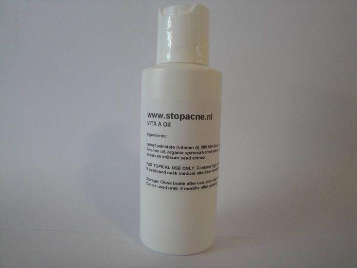 Absoluut een heel sterk middel tegen acne! Met o.a. hoog gedoseerde vitamines A en E, Tea tree olie, kruidnagelolie, en verschillende soorten kruiden die de tal