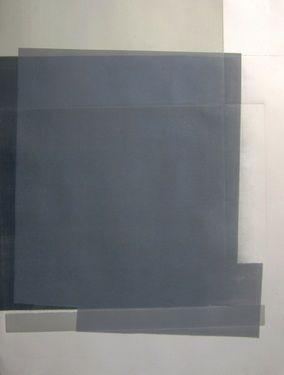Study in blue - Original Art work  collaboration between emmanuelle renard  and óscar  valero  sáez