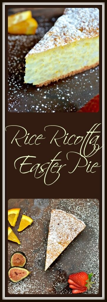 Rice and ricotta...an Italian dynamic duo presented to you in the shape of a pie! Come take a look at this family recipe for Rice Ricotta Easter Pie.