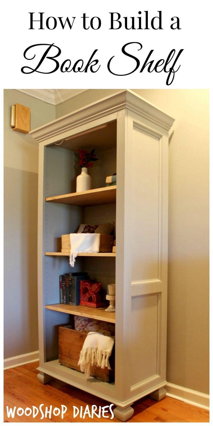 best 25 homemade bookshelves ideas on pinterest vertical bookshelf book shelf bench and wood. Black Bedroom Furniture Sets. Home Design Ideas