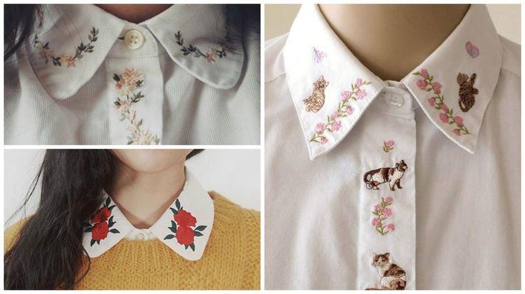 Непохожая на все остальные: вышивка в современной одежде - Ярмарка Мастеров - ручная работа, handmade