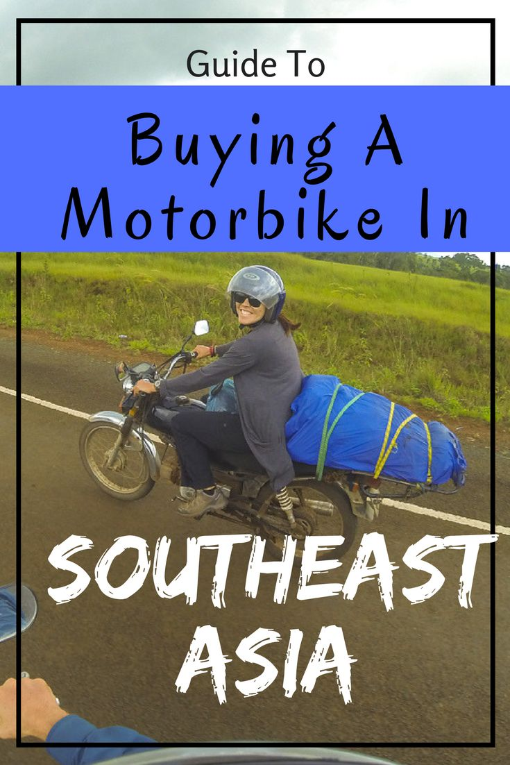 If you are thinking of buying a motorbike in Southeast Asia then have a read of this post. We give you advise on how to buy a motorbike, what to look for, travelling around, and insurance. #motorbiking #adventure #southeastasia #travel