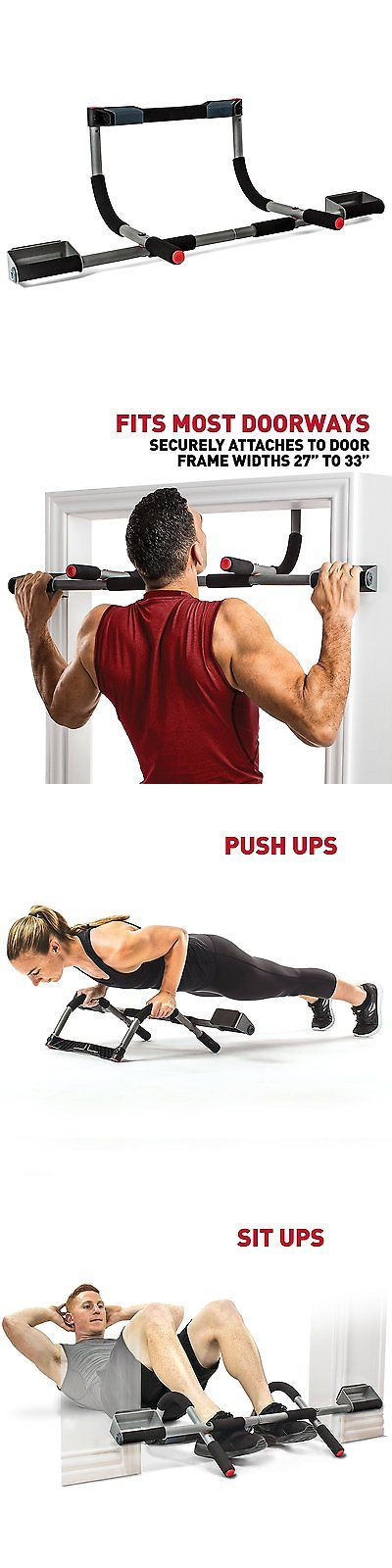Pull Up Bars 179816: Pull Up Bar Doorway Gym Chin Trainer Home Multi Grip Heavy Duty Workout Fitness -> BUY IT NOW ONLY: $55.56 on eBay!