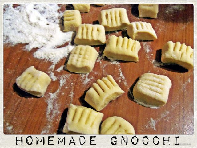Homemade Gnocchi from Scratch- 1st Attempt