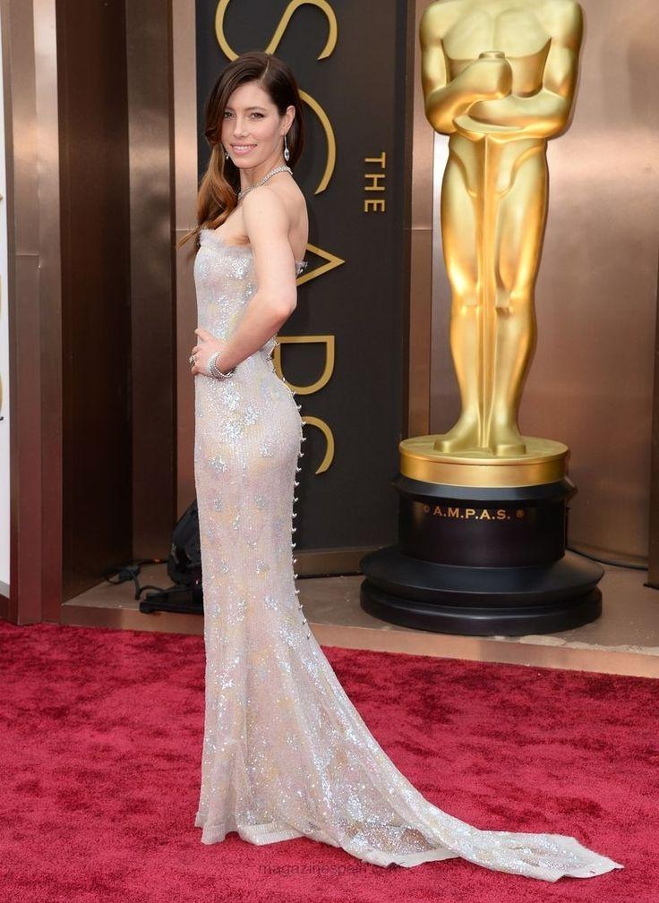 Jessica Biel - Premios Oscar 2014