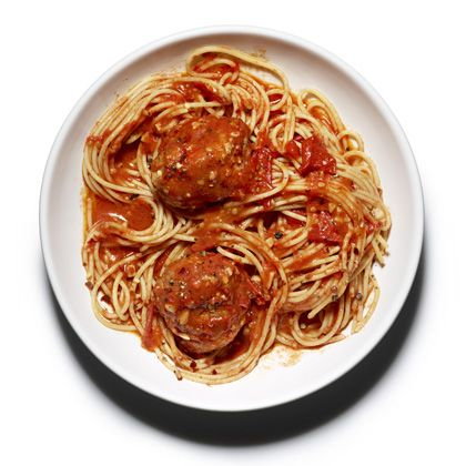 Whole-Wheat Spaghetti and Meatballs Recipe