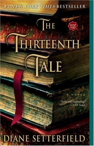 The Thirteenth Tale by Diane Setterfield. Deliciously gothic, with every cliché going - spooky house, twins, abandoned babies, mysterious deaths, mad relatives - I loved it (And I love this cover much more than the one that's on my UK copy!)