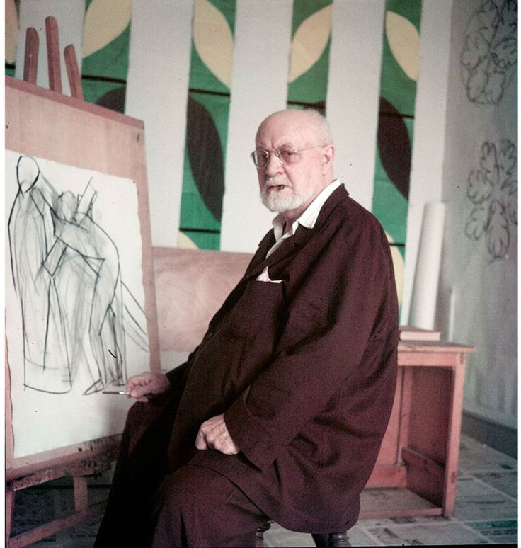 Henri Matisse: artist in his studio