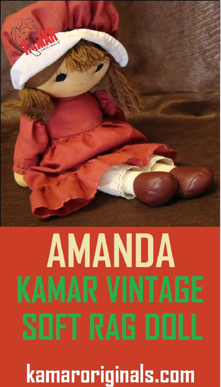 Kamar Vintage Beautiful Kamar Vintage Rag Doll Amanda From The Historic Kamar