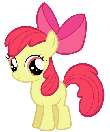 images transparent: All My Little Fillies Apple Bloom.?
