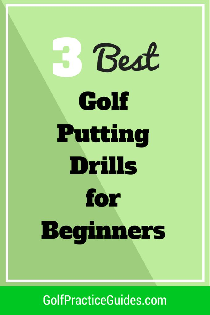 Here are the 3 best golf putting drills for beginners to improve their putting stroke and start sinking more putts on the putting green. Find out what golf drills you should be doing at practice by clicking the link to today's article!