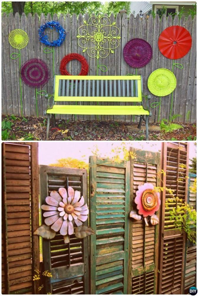 Garden Ideas Fence Decor