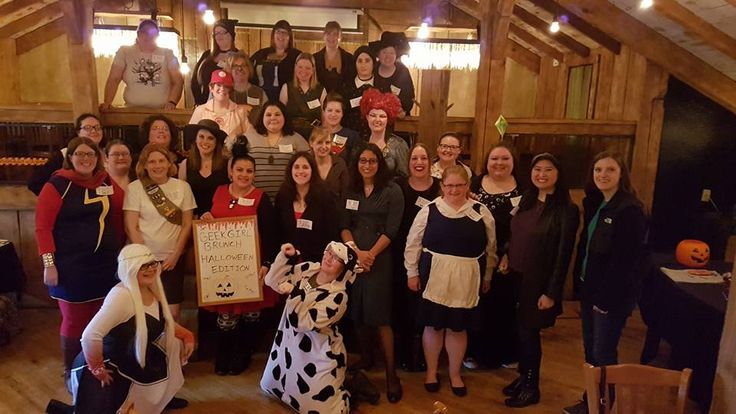 This month's brunch was originally supposed to be a Murder Mystery, but time constraints had us re-think the theme. We may do a Murder Mystery in the future, but for now, we decided on changing it to a Haunted Halloween brunch . It was held at Burntwood Tavern in Brecksville, OH. We wanted a location... Read More
