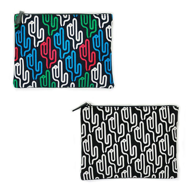 Korea Women Cactus Clutch Cross Pouch Bag Handbag Purse Faux Leather Polyester #KoreaBrand #Clutch