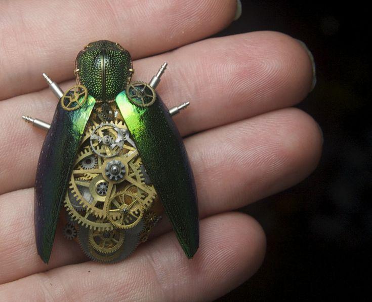 steampunk scarab