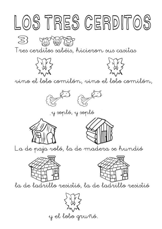 Rimas De Los 3 Cerditos | apexwallpapers.com
