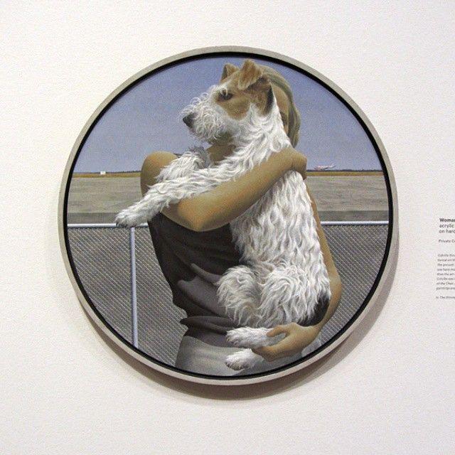 Une autre superbe toile d'Alex Colville.  Another beautiful Alex Colville.