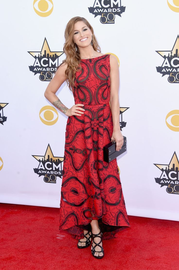 2015 Academy of Country Music Awards - Cassadee Pope attends the 50th Academy of Country Music Awards at AT&T Stadium in Arlington, Texas, on April 19, 2015.
