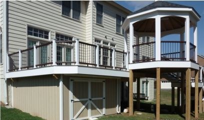 Evergreen Fence & Deck - Porches, Patios & Gazebos in Montgomery County & Howard County, MD including Silver Spring, Potomac, Bethesda, Columbia, Ellicott City, and Germantown.