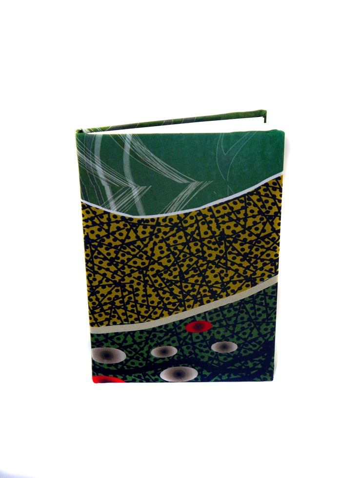 Modern Love Large Luxury A5 Notebook- Green Field