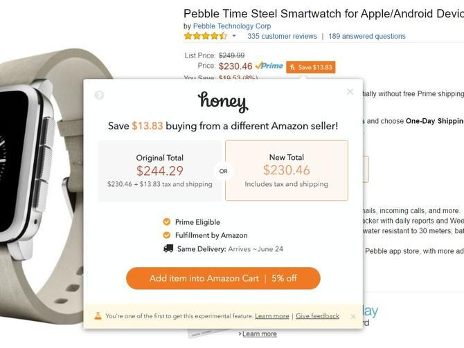 This popular browser extension has a new trick up its sleeve, and it's all about Amazon.