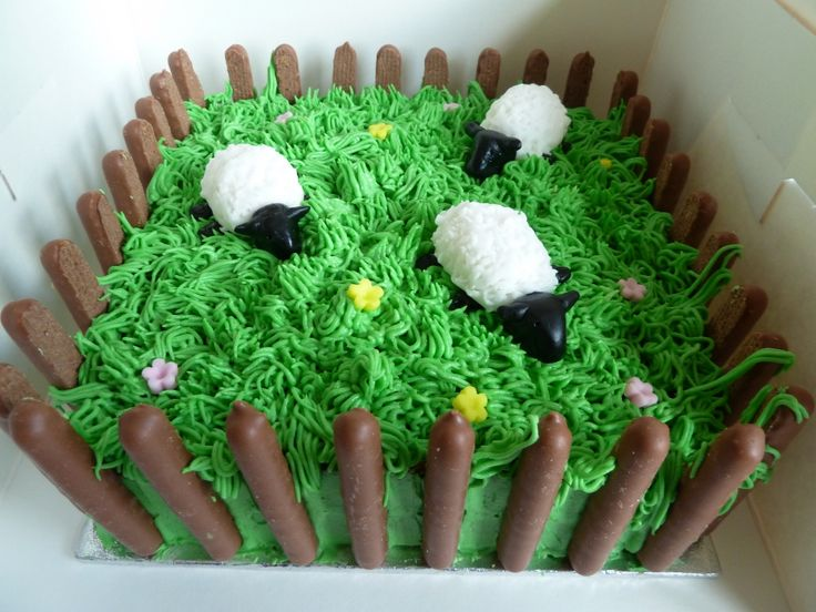 Sheep Cake how cute