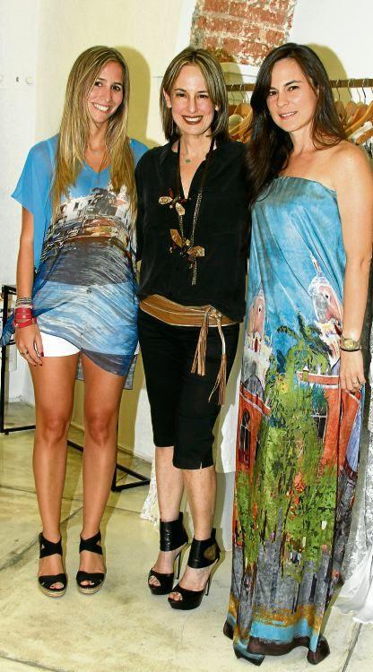 Sofi Schuster, Silvia Tcherassi y Natalia Segovia.