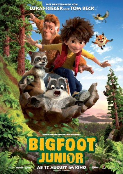 The Son of Bigfoot Movie Poster – Meet Bigfoot Junior!