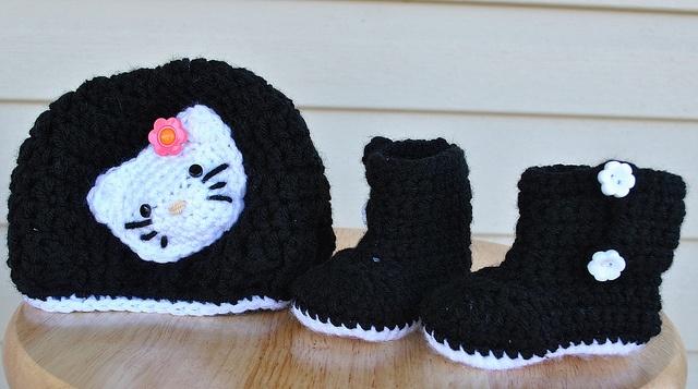 54 besten Crochet - Hello Kitty Bilder auf Pinterest   Häkelideen ...