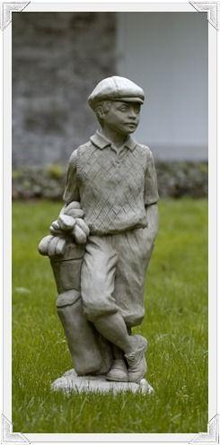 Superb Golfer Garden Statue