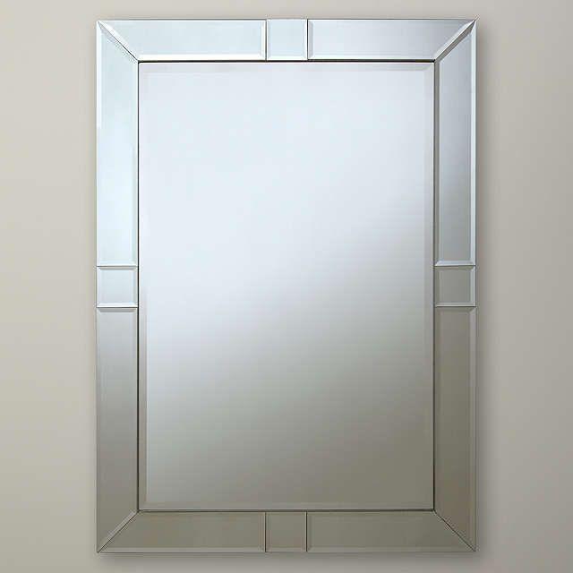BuyJohn Lewis Taylor Mirror, 90 x 65cm Online at johnlewis.com