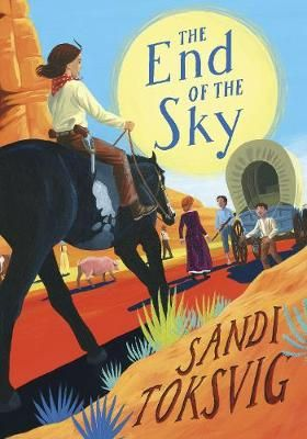 The End Of The Sky By Sandi Toksvig. 11-year-old Slim Hannigan and her family left their home in Ireland to travel to America - in search of a better life.