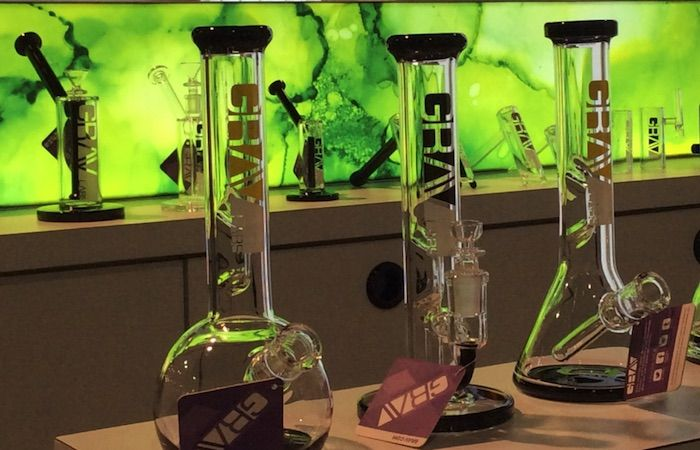 """""""Smoke shops"""" or """"Head shops,"""" you can call them what you like, but paraphernalia proprietors in the Las Vegas Valley can now legally sell bongs, oil rigs, and assorted high-end glassware to adults over the age of 21 for the purpose of consuming marijuana."""