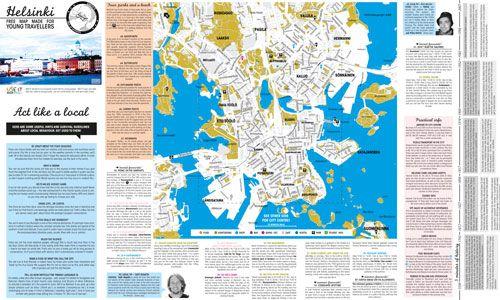 USE-IT map for Helsinki (http://www.use-it.travel/cities/detail/helsinki/)