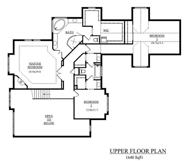 Floor Plan Second Story House Plans Pinterest