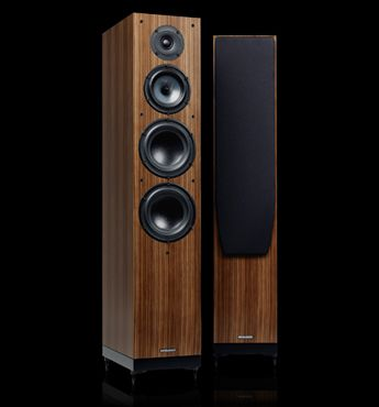 Spendor A9 : The A9 is a full-size 3-way floor standing loudspeaker. It has the resolution, dynamic range, and low frequency extension to realise the breathtaking detail which the finest digital media servers can now deliver from well-recorded hi-resolution uncompressed audio source material.