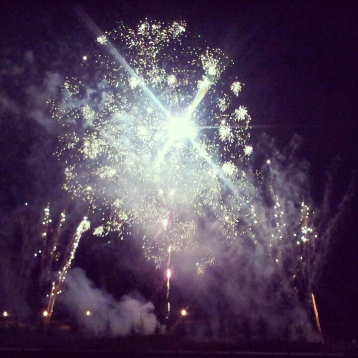 #fireworks #Rouen #armada #night