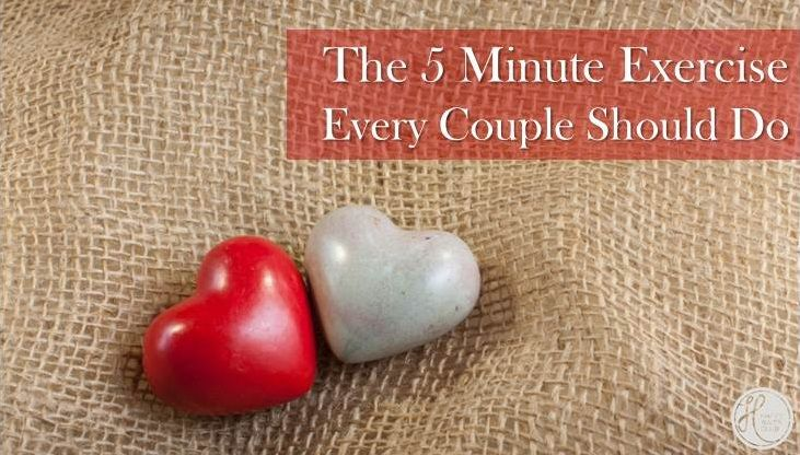 Take five minutes out of your day and do this!  It'll make you remember what marriage is all about!!