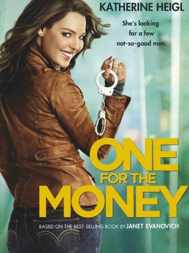 one for the money: Bounty Hunters, Books, Janet Evanovich, Dvd, Stephanie Plum, Movies, Money, Katherine Heigl, Favorite Movie