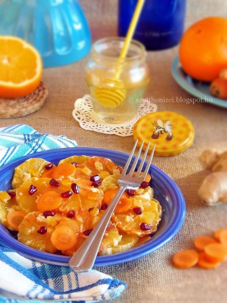 Az otthon ízei: Gyömbéres sárgarépa-narancs saláta
