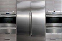 Sub-Zero 700BR refrigerator drawers open