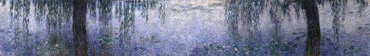 """""""Les Nympheas"""" by Claude Monet - Musée de l'Orangerie, Tuileries"""