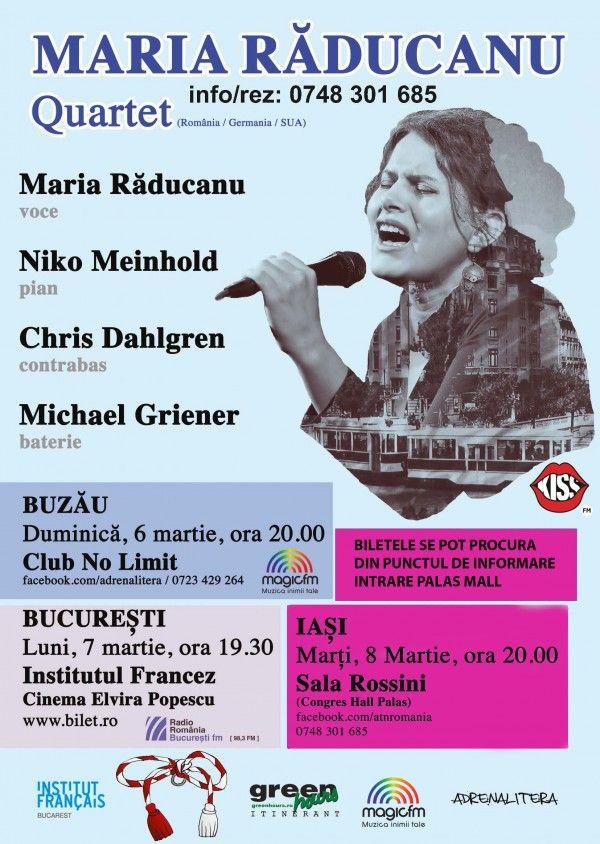 Maria Raducanu Quartet LIVE la Iasi
