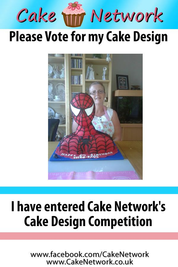 Tricia Pike - Cake Contest Winner for week 2.   To join our weekly cake contest, all you have to do is send us a picture of one of your cake designs. We will add it to our album, and the cake with the most likes wins and gets featured on our facebook page and website.   www.facebook.com/cakenetwork