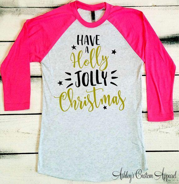 Christmas Shirt, Funny Womens Christmas Shirts, Holiday Shirt, Merry Christmas, Christmas Song Shirts, Christmas Gifts, Custom Christmas  by AshleysCustomApparel
