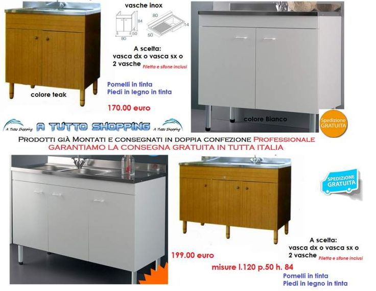 17 best images about mobili cucina in offerta e consegna for Mobili lavelli cucine